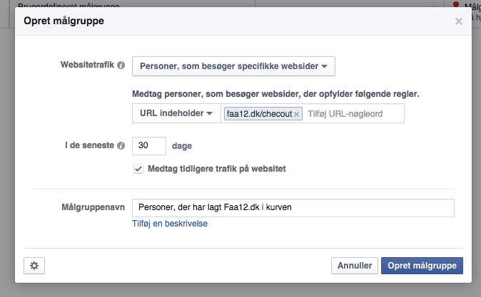 remarketing på facebook