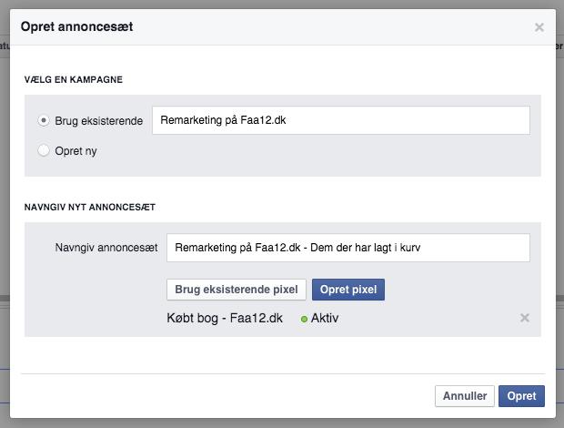 Sådan laver du remarketing på Facebook mod folk, der har set din indkøbskurv