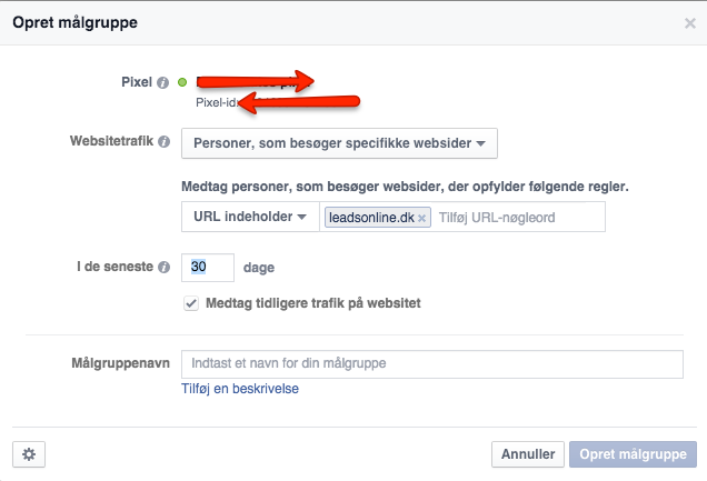 Remarketing fra andre sider end din egen shop